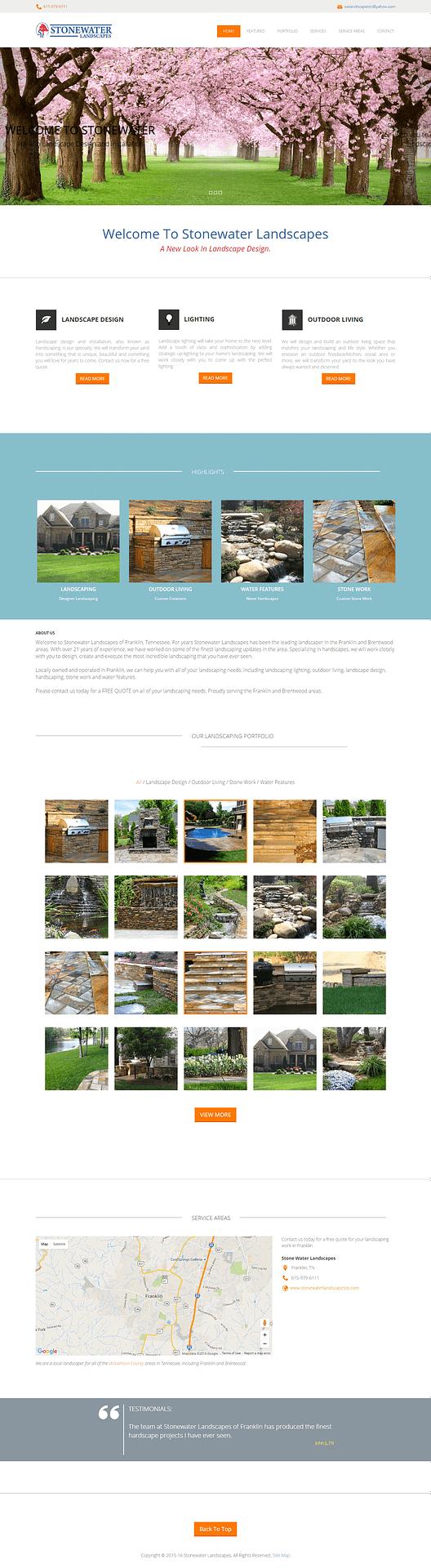 Stonewater Landscape