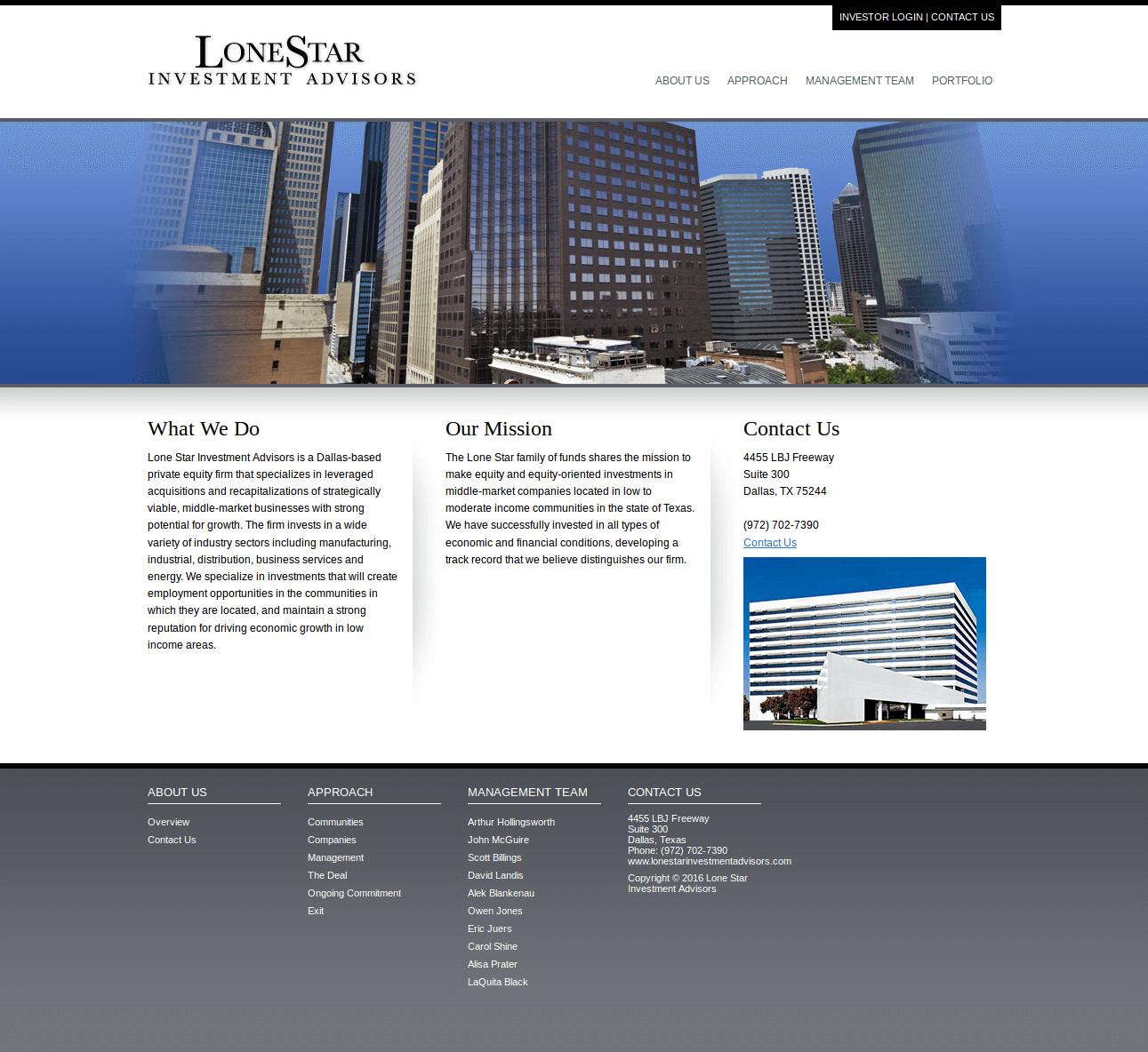 Lonestar Investment Advisor